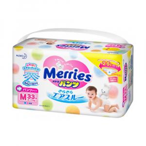 Трусики-подгузники для детей MERRIES размер М 6-11кг 33шт