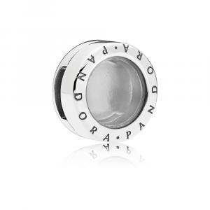 PANDORA Reflexions locket silver clip charm