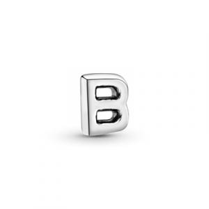 Letter B silver petite element