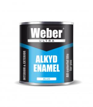 Эмаль голубой 2.7 кг WEBER