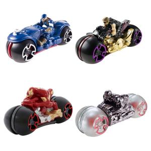 Мотоциклы с гонщиками Hot Wheels в ассортименте
