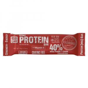 B-First Protein Bar с натуральными ягодами