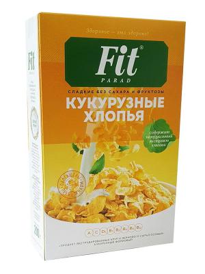 Кукурузные хлопья FitParad 200г (коробка)