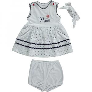 Платье с шортиками с косынкой (PRETTY MARINE)