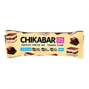 Chikabar батончик молочном шоколаде Тирамису