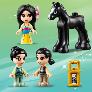 Конструктор LEGO Disney Princess Книжка приключений Мулан