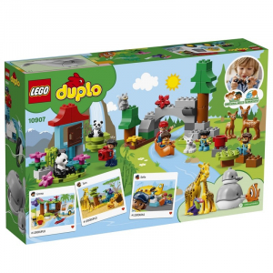Конструктор LEGO Duplo Town Животные мира