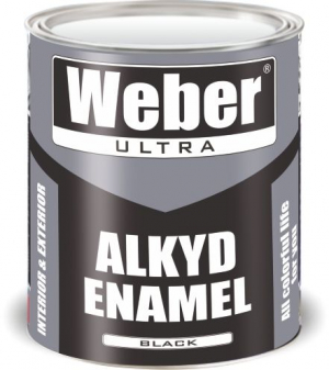 Эмаль чёрный 2.7 кг WEBER