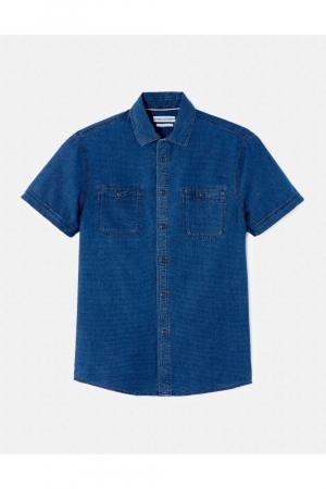Mc indigo shirt dobby