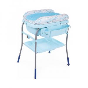 Пеленальный столик и ванночка Chicco Cuddle&Bubble 2в1 Ocean