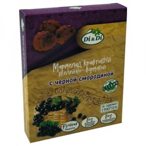 Мармелад крафтовый желейно-формовой с черной смородиной «Di&Di» вес 155±5 г