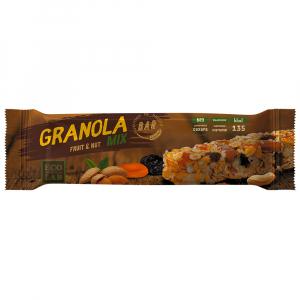 Granola Bar Fruit&Nut Mix (смесь злаков, миндаль,арахис,курага,чернослив)