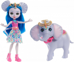Набор Enchantimals Кукла Лама Ллуэлла и Флиси FRH42