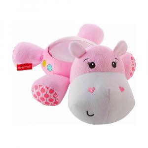 Ночник Fisher-Price Розовый бегемотик