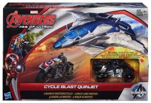 Игровой набор мини фигурки Avengers Самолет мстителей