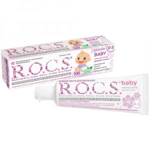 Зубная паста R.O.C.S. с ароматом липы 0-36м