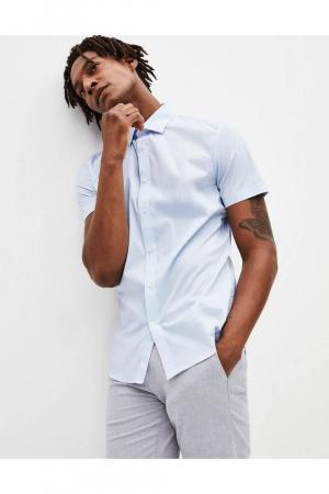 Plain Slim Stretch shirt