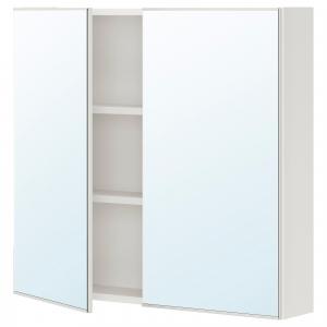 ENHET зеркальный шкаф с 2 дверцами