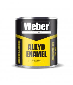 Эмаль жёлтый 2.7 кг WEBER