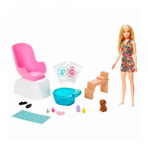 Набор Barbie Mani-pedi spielset