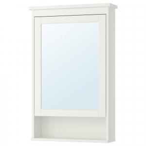 HEMNES зеркальный шкаф с 1 дверцей