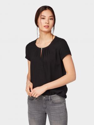 T-shirt fabric mix, Deep Black, XS