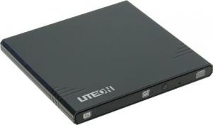 LITE-ON eBAU108-11, Black внешний привод DVD-RW