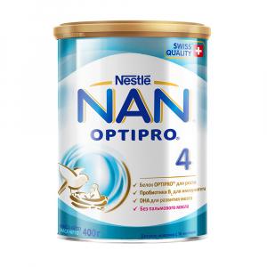 Сухой молочный напиток NAN 4 400 гр