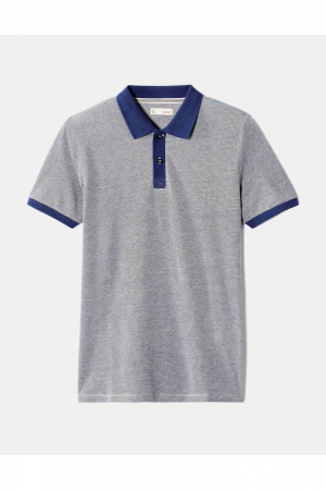 MC POLO COLLAR JACQUARD