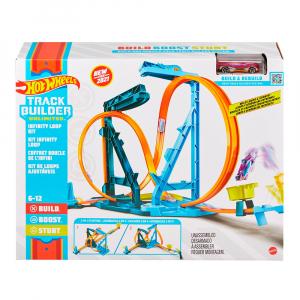 Набор-трек Hot Wheels Track Builder Infinity Loop Kit