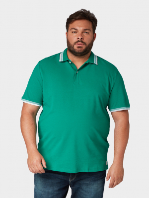 polo with wording t, Plain Green, XXXXXL