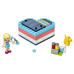 Конструктор LEGO Friends Летняя шкатулка-сердечко для Стефани 41386