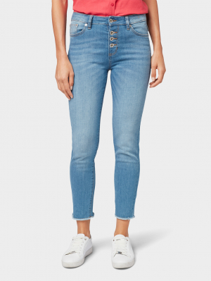 Tom T, light stone bright blue denim, 25