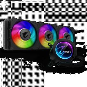 Aorus Liquid 360Pmm ARGB Fanx3AirPressure:3.51mmH2O8~39.5dBA0x60mmFullColorLCD