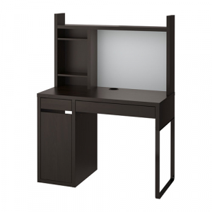 MICKE стол с высоким дополн модулем