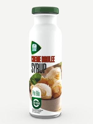 Сироп FitActive Крем-брюле 300мл пребиотик со стевией  (бутылка)