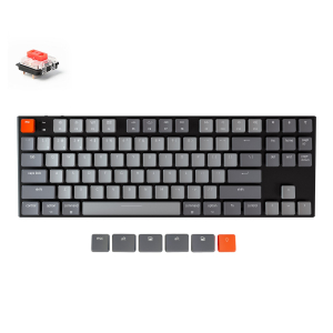 Keychron K1 87 keys, Gateron Red