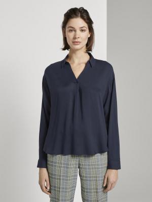 blouse  casual loo, Sky Captain Blue, 42