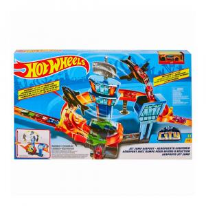 Набор-трек Hot Wheels Jet jump airport PS