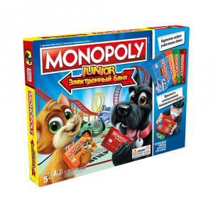 Настольная игра Hasbro Games Monopoly Junior Electronic Banking