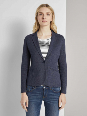 blazer cosy brushed, Sky Captain Blue, S