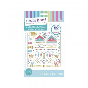 Набор Make It Real Metallic Tattoos