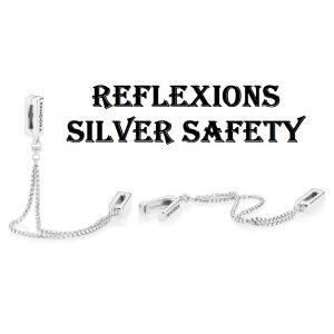 PANDORA Reflexions silver safety chain