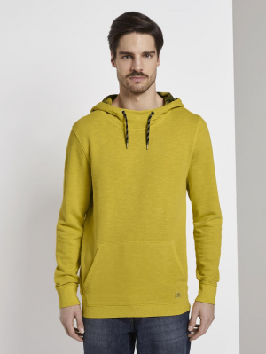 overdyed hoodie, Californian Yellow, L