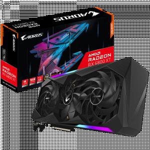 AORUS Radeon™ RX 6800 XT MASTER 16G (Только в сборках)
