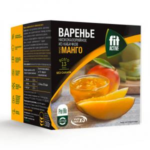 Варенье из кабачков с манго FitActive multi pack*3 30гр