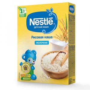 Каша Nestle молочная рисовая 220 гр