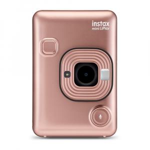 Фотокамера FUJIFILM instax mini LiPlay rose-gold моментальная печать