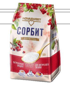 """Заменитель сахара """"Сорбит"""" """"Novasweet®"""", 500гр"""