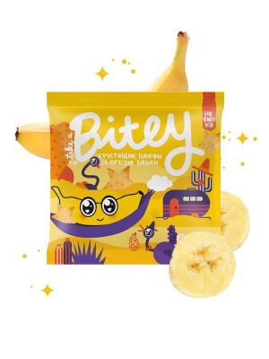 Паффы со вкусом Банан 20гр Мультизлаковые фигурки